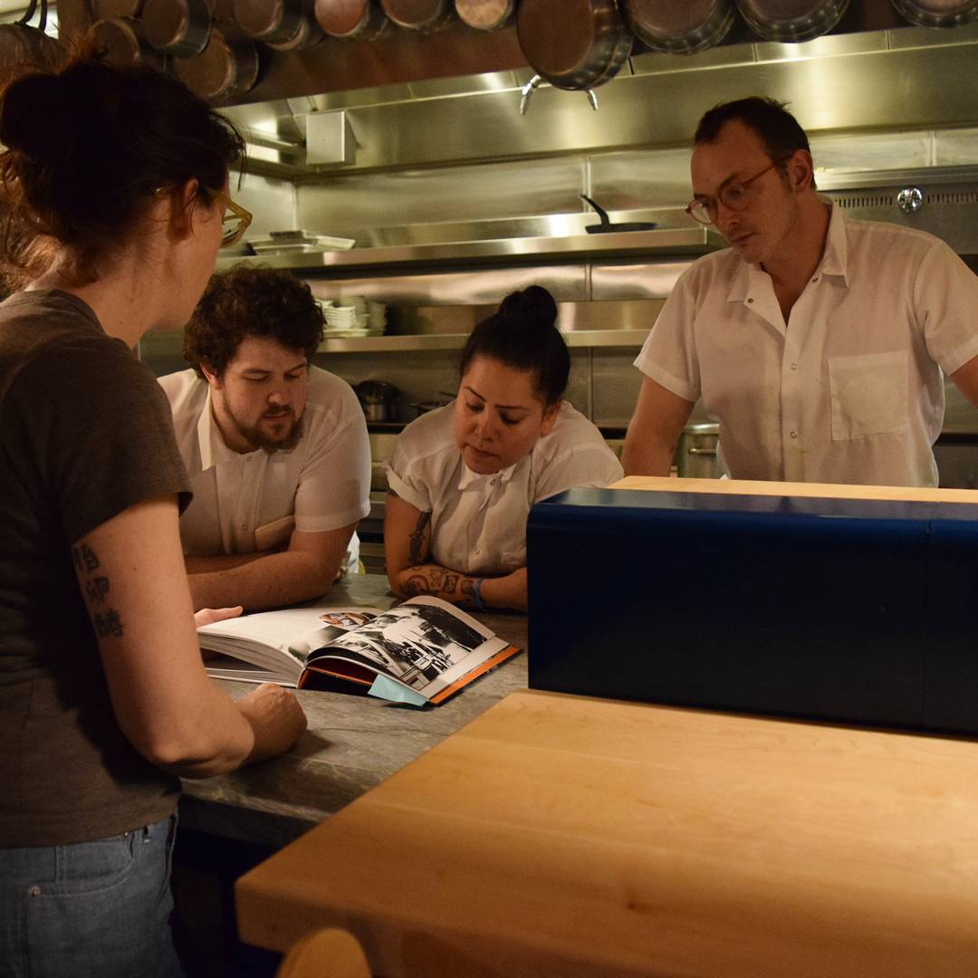 Late night stories with Chef Nicole statebirdprovisions sbp cookbook